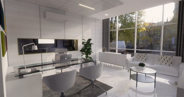 Desain ruang kantor modern minimalis