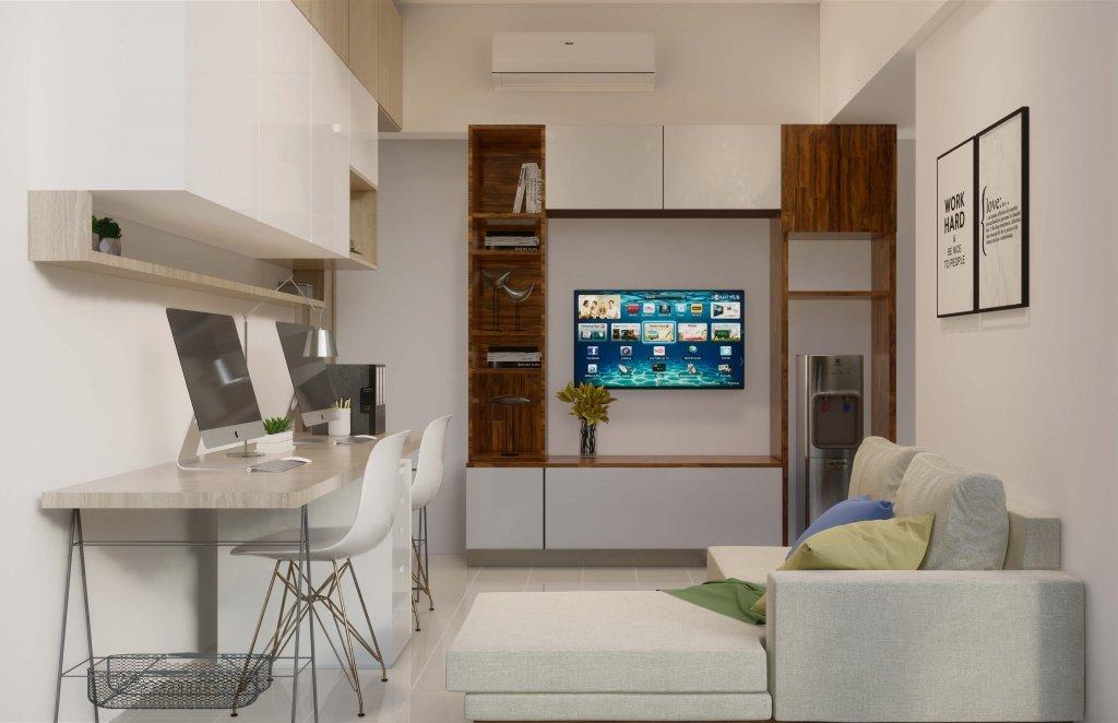 interior apartemen minimalis modern