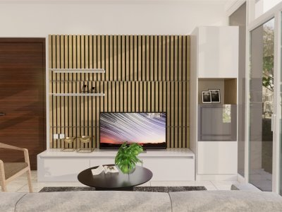 desain rumah modern natural