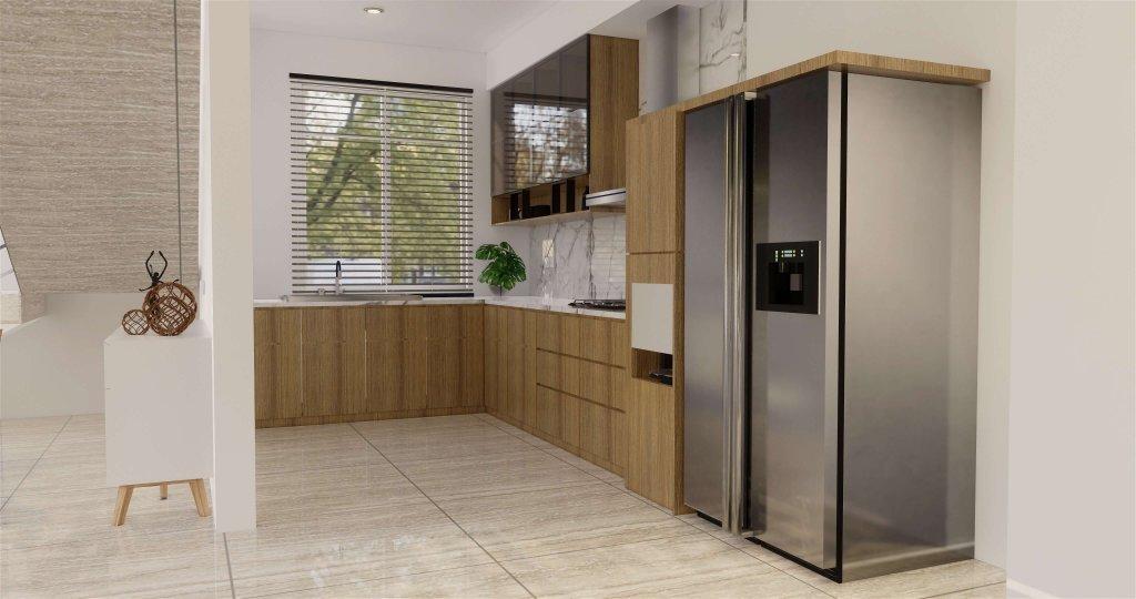 dapur modern natural