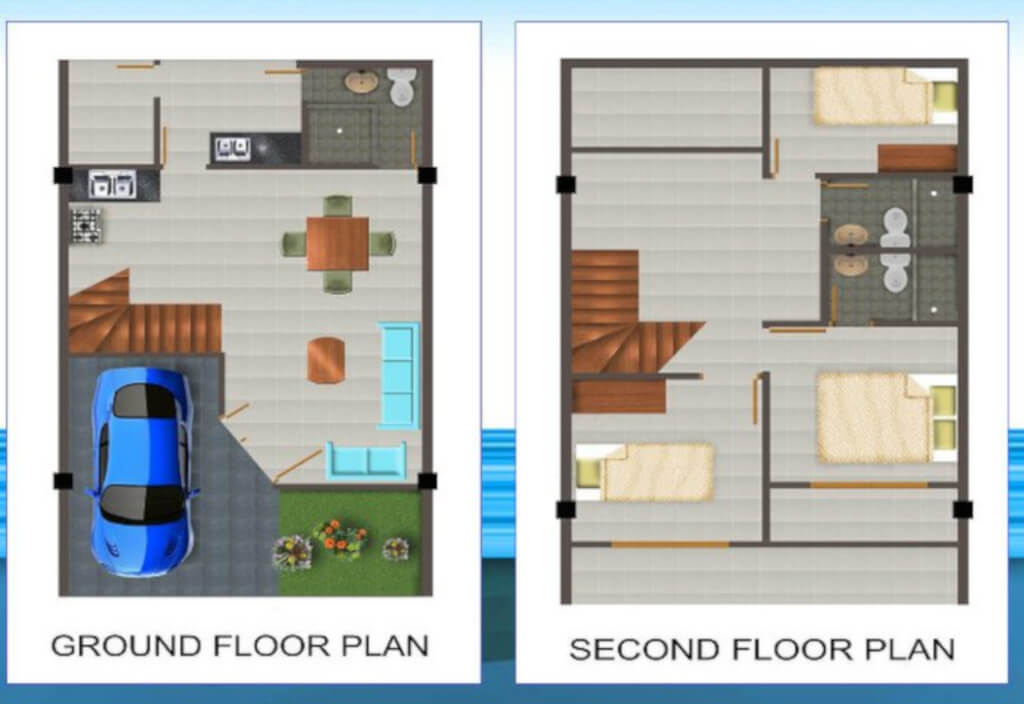 Desain Rumah Minimalis Ukuran 7x12 Meter  denah rumah minimalis 3 kamar tidur type 36 murah tapi tak