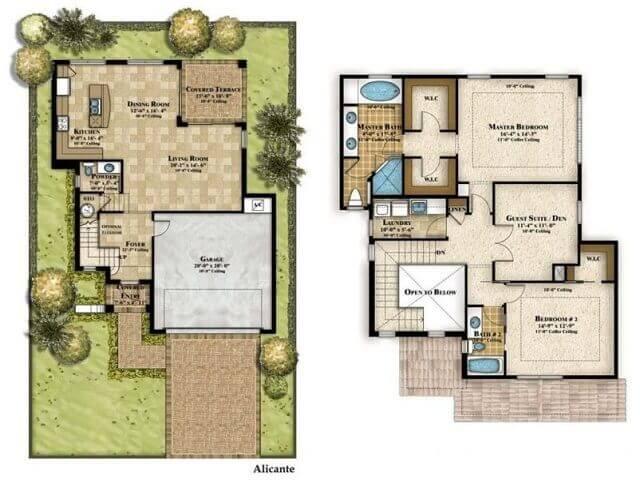 Desain Rumah Minimalis Dapur Di Depan  denah rumah minimalis 3 kamar tidur type 36 murah tapi tak