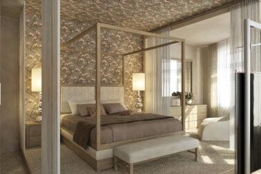 ide desain kamar tidur romantis