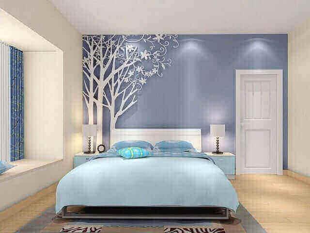 ide desain kamar tidur romantis untuk suami istri