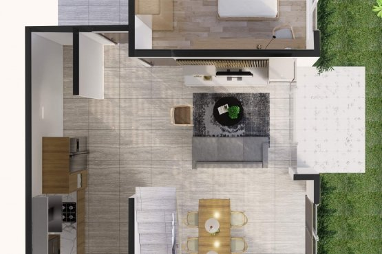Desain denah rumah