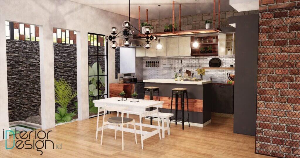 desain interior dapur bekasi