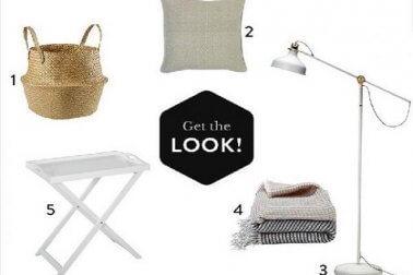 daftar belanaj furniture ruang keluarga gaya coastal