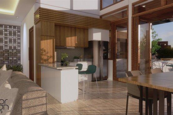 desain pantry dan ruang makan