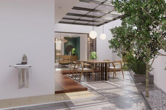 interior rumah gaya modern