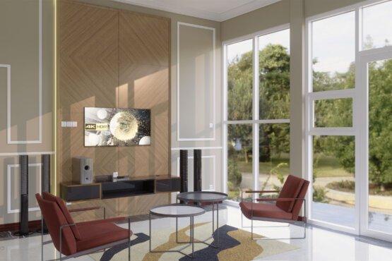 desain interior ruang tv