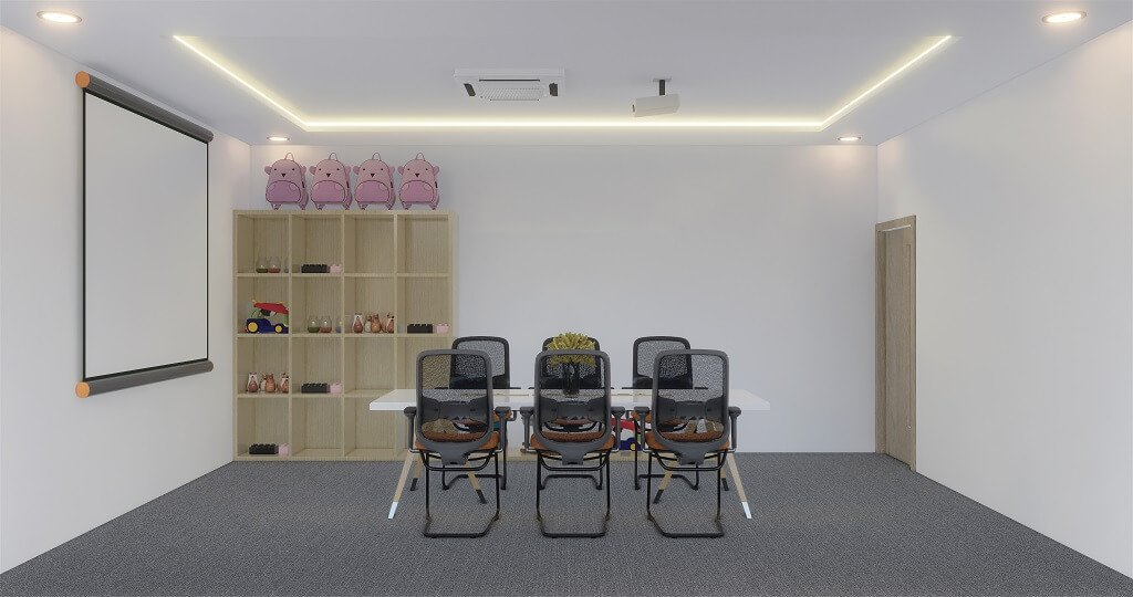 Interior kantor bloom n grow 2