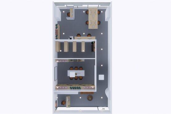 desain kantor modern minimalis