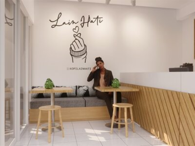 kedai kopi lain hati