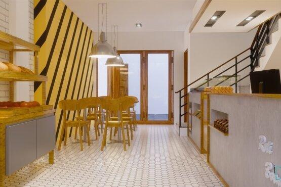 desain interior toko roti balikpapan