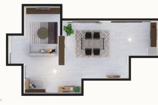 interior rumah, kendari sulawesi