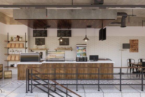 desain cafe modern balikpapan