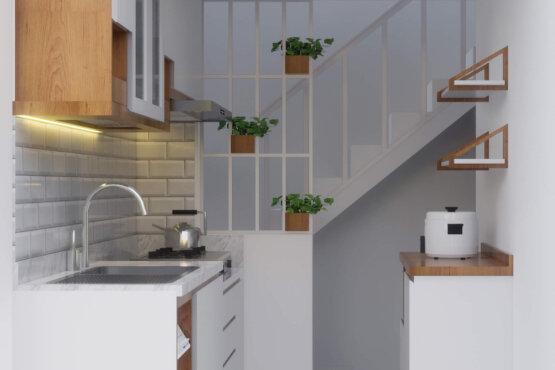 interior dapur jakarta