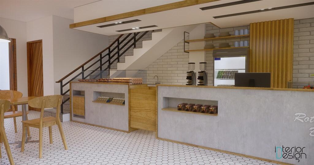 desain toko roti modern