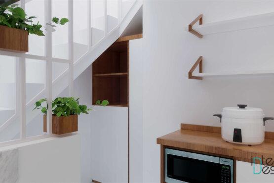 interior dapur scandinavian
