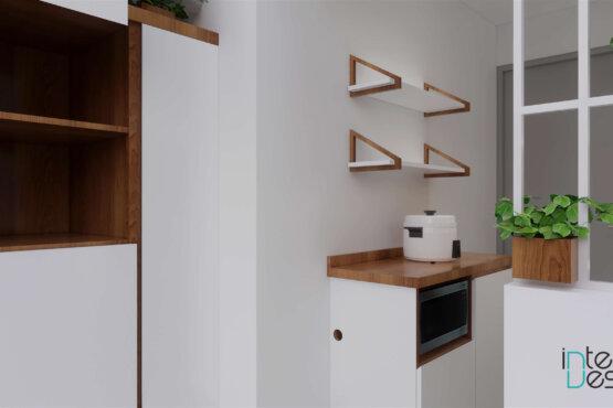 interior dapur skandi