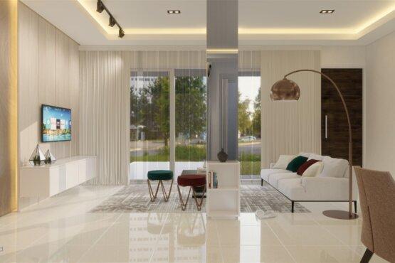 desain rumah gaya kontemporer semarang