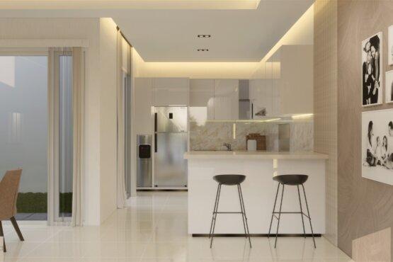 interior rumah gaya kontemporer