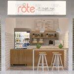 desain toko roti dan kopi, bintaro tangerang selatan