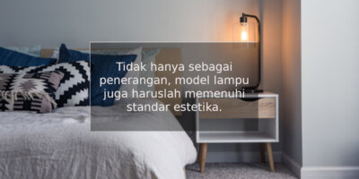 model lampu
