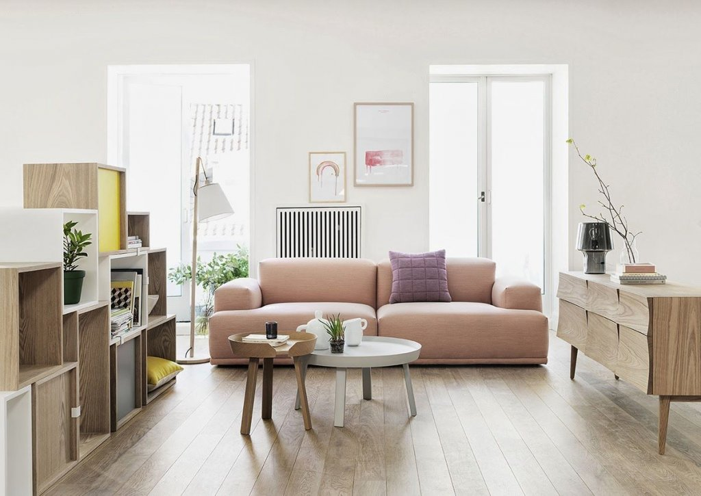 model sofa gaya skandinavian kontemporer