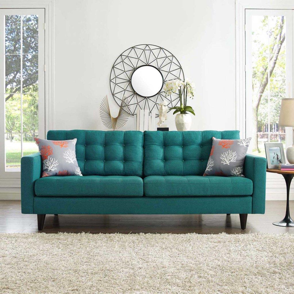 model sofa mid century modern