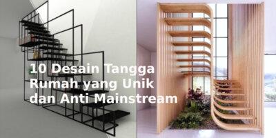 tangga rumah unik