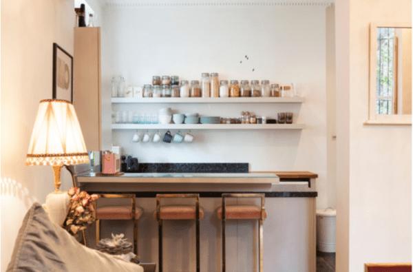 Desain Coffee Shop GayaSkandinavia