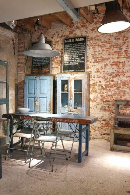 Desain Coffee Shop Rumahan GayaIndustrial