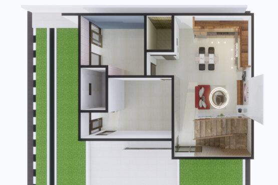 desain interior rumah modern bandung