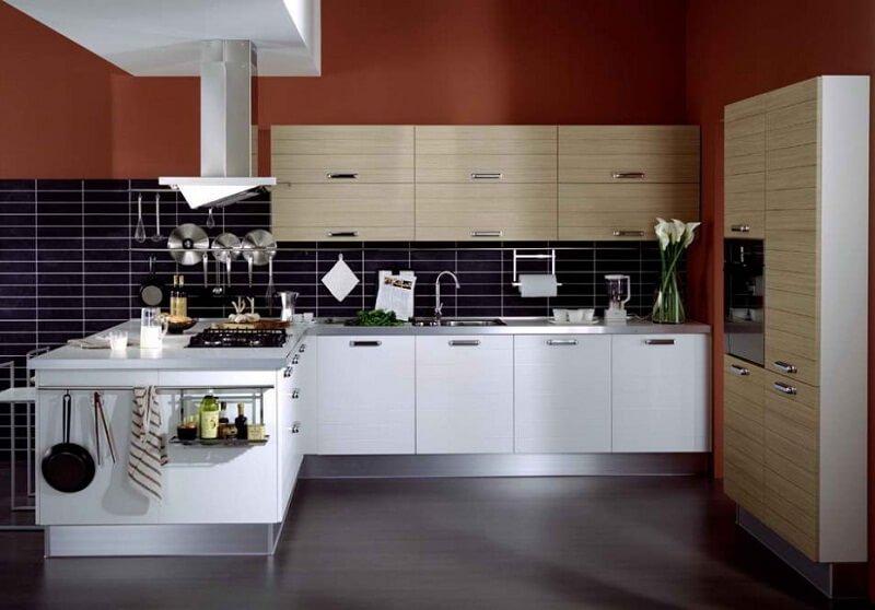 desain dapur putih minimalis