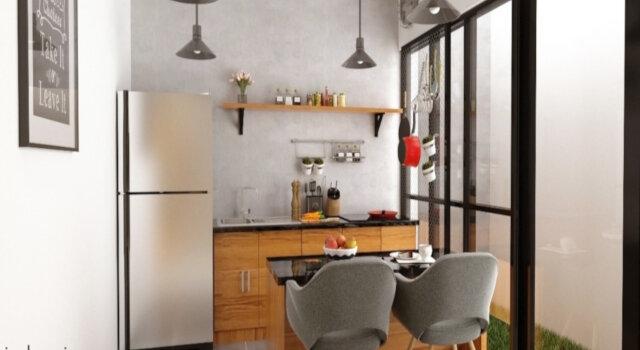 Konsep Desain Dapur Dan Ruang Makan Sempit Interiordesign Id