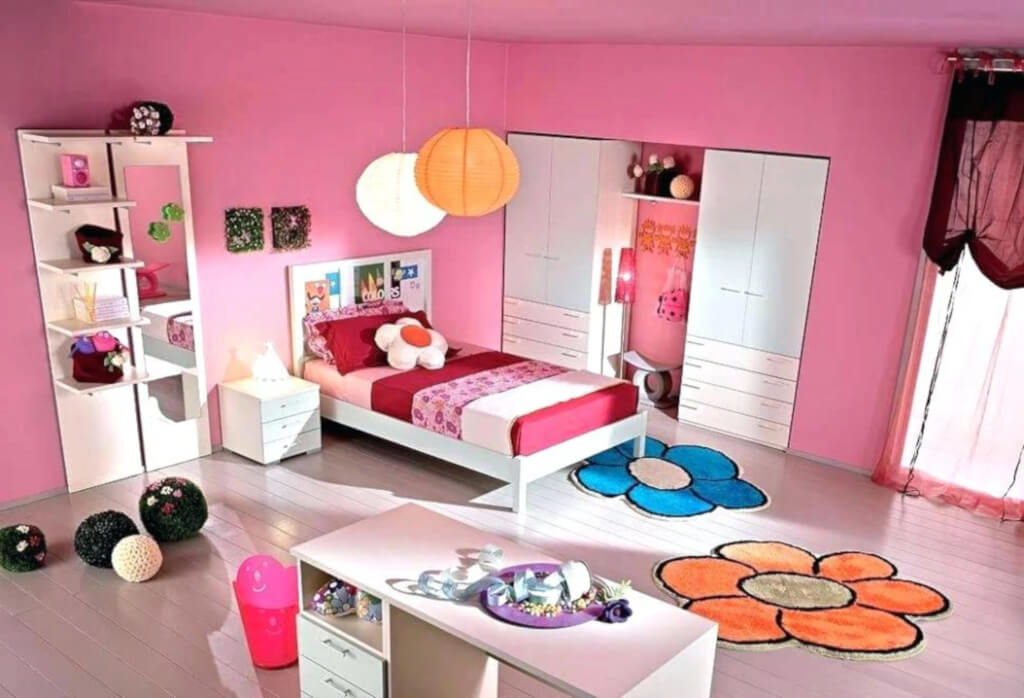 desain kamar tidur anak remaja perempuan