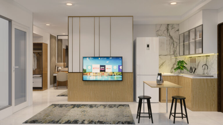 desain apartemen studio jakarta