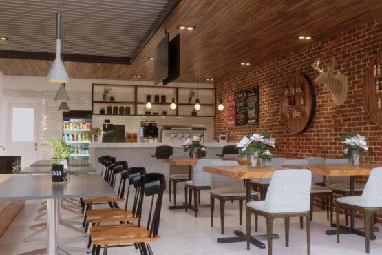 interior kafe bandung