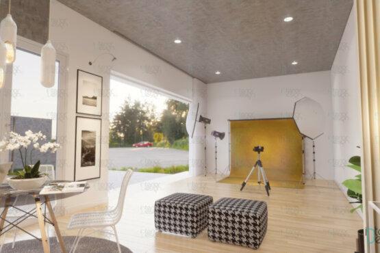 desain studio foto