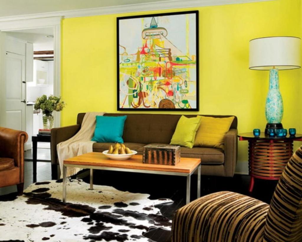 10 Warna Cat Ruang Tamu Sempit Sulap