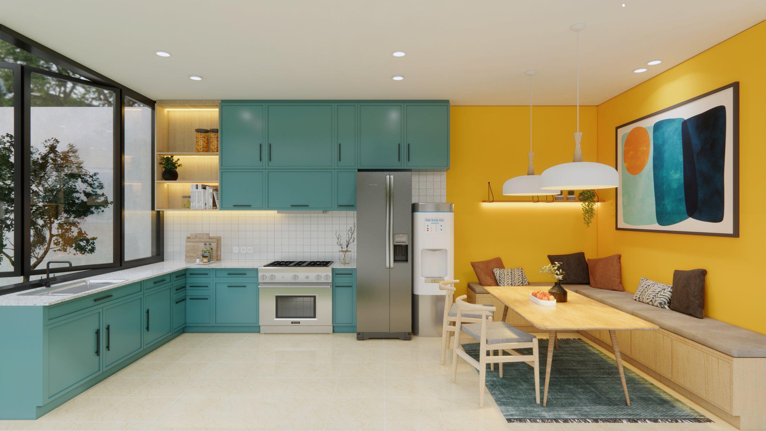 Pilihan Warna Cat Interior Rumah Mengenal Tipe Warna Dan Psikologi Warna Interiordesign Id Warna cat rumah makan