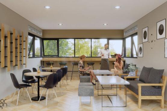 desain coffee shop