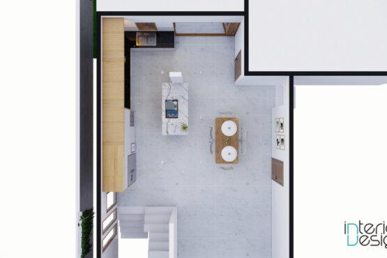 dean dapur dan ruang makan