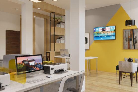desain kantor modern