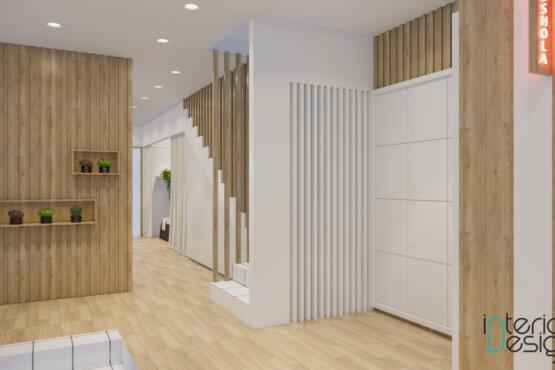 desain interior klinik kecantikan gaya modern