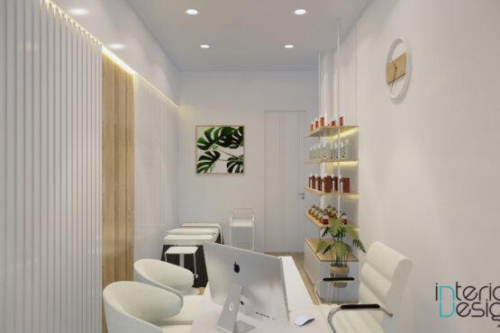 desain klinik modern natural