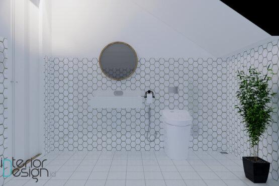 interior kamar mandi modern