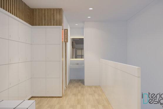 desain klinik gaya modern natural