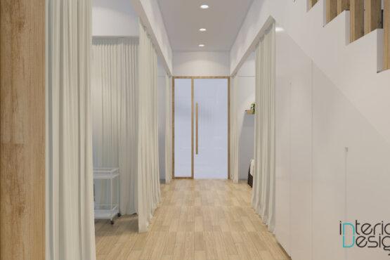 desain interior klinik modern natural